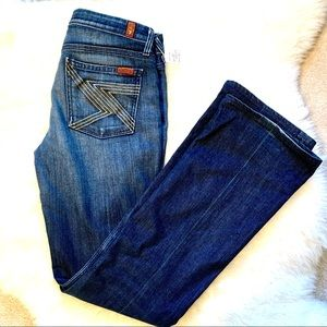 7 For All Mankind Flint jeans size 28